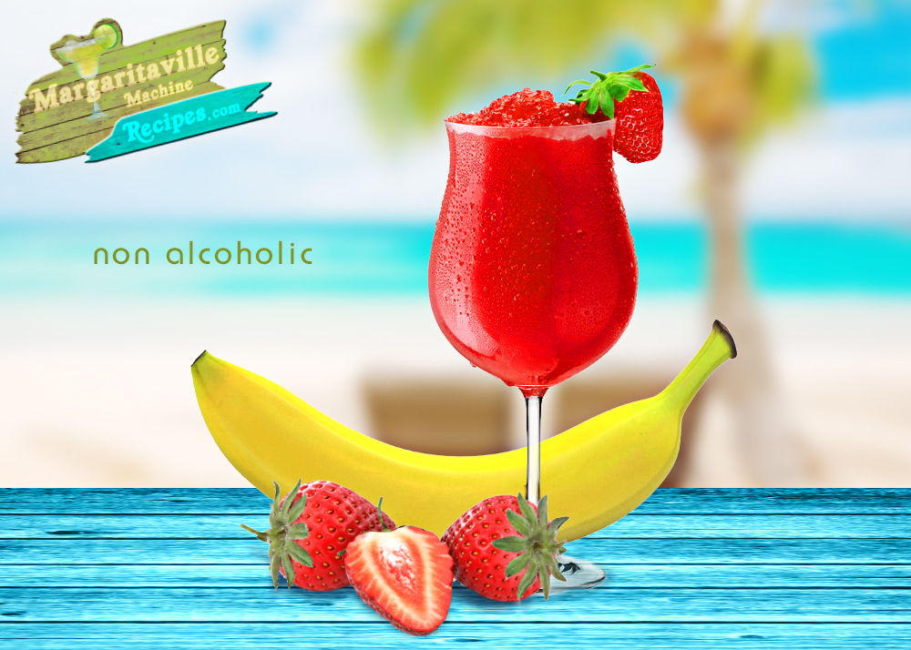 Virgin Strawberry Banana Daiquiri